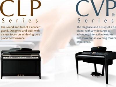 Yamaha clavinova refined sound touch and pedals for Yamaha clavinova clp 535 for sale