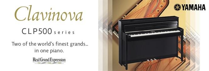 Yamaha clavinova clp 500 features for Yamaha clavinova clp 500