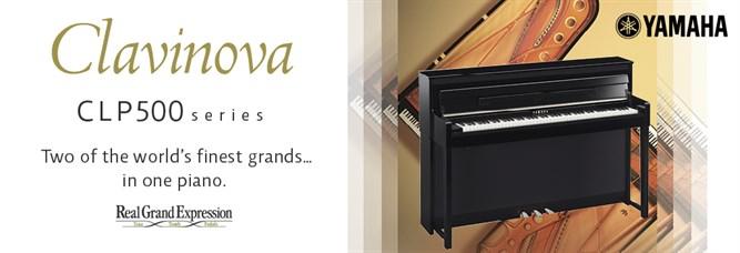 Yamaha clavinova digital pianos clp cvp modus for Yamaha clavinova clp 500