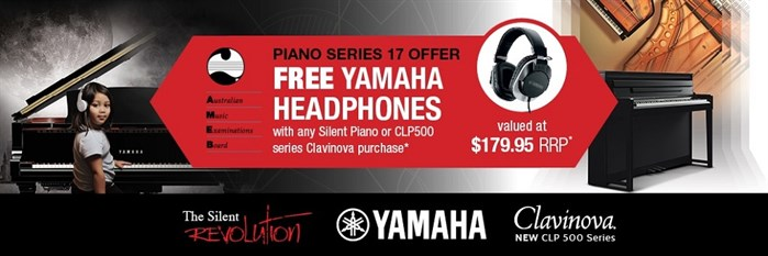 AMEB Piano Series #17 Free Headphone Promotion