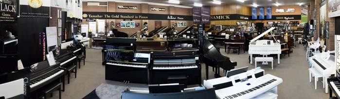 Front Piano Showroom