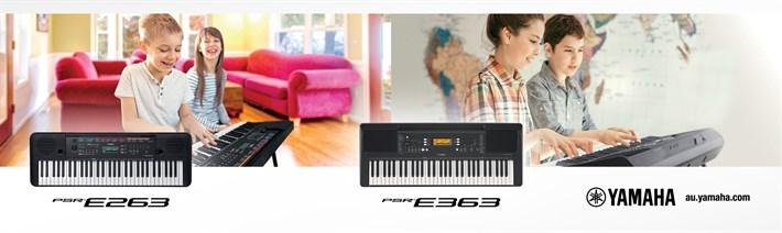 Regular Series Yamaha PSR E Series | Prestige Pianos and