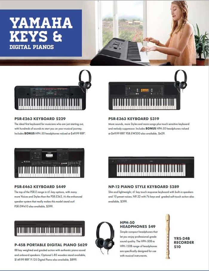Living Music Back to School 2019 | Prestige Pianos & Organs